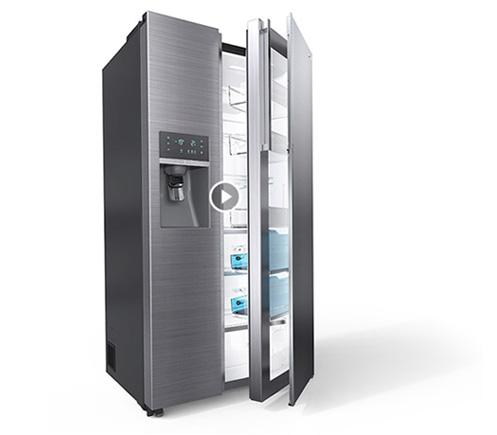 Samsung Waschmaschinen, Kühl-Gefrierkombinationen und Side-by-Sides