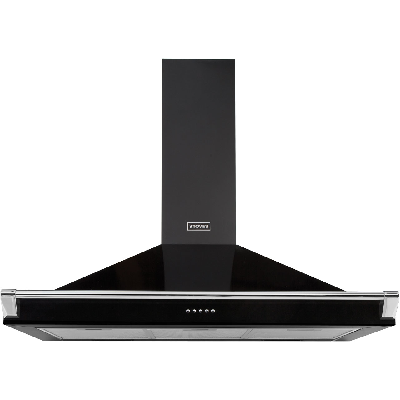 Stoves 1100RICHMONDCHRAILMK2 Integrated Cooker Hood in Black