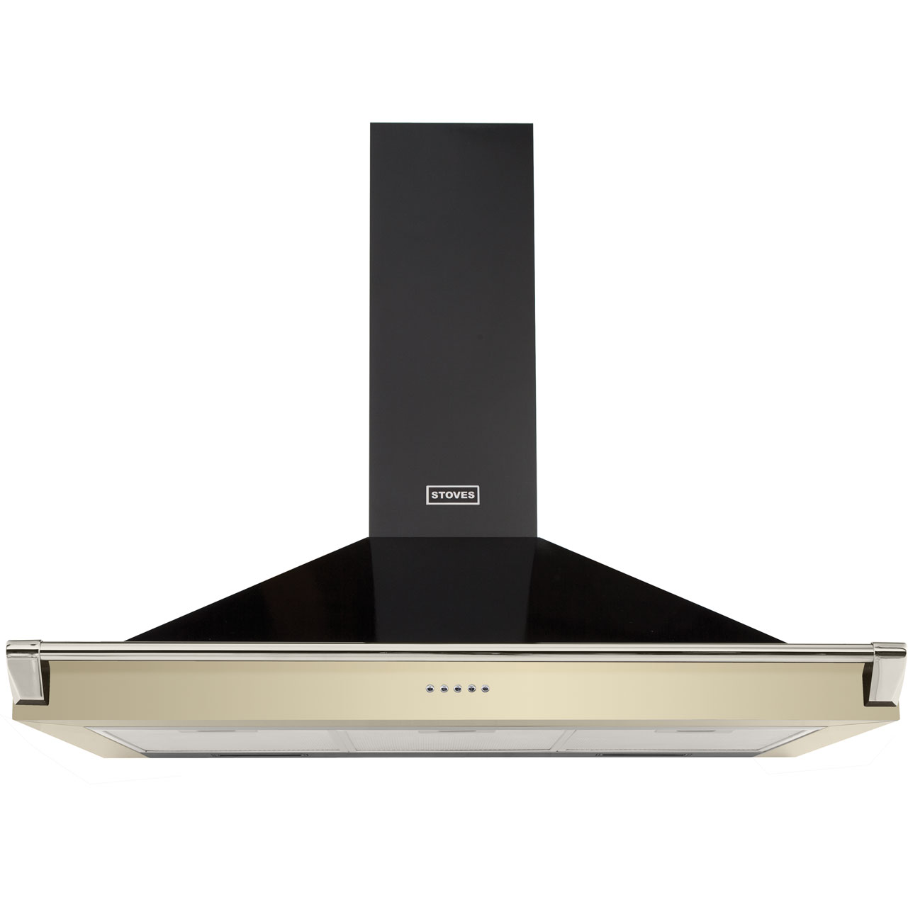 Stoves 1100RICHMONDCHRAILMK2 Integrated Cooker Hood in Champagne