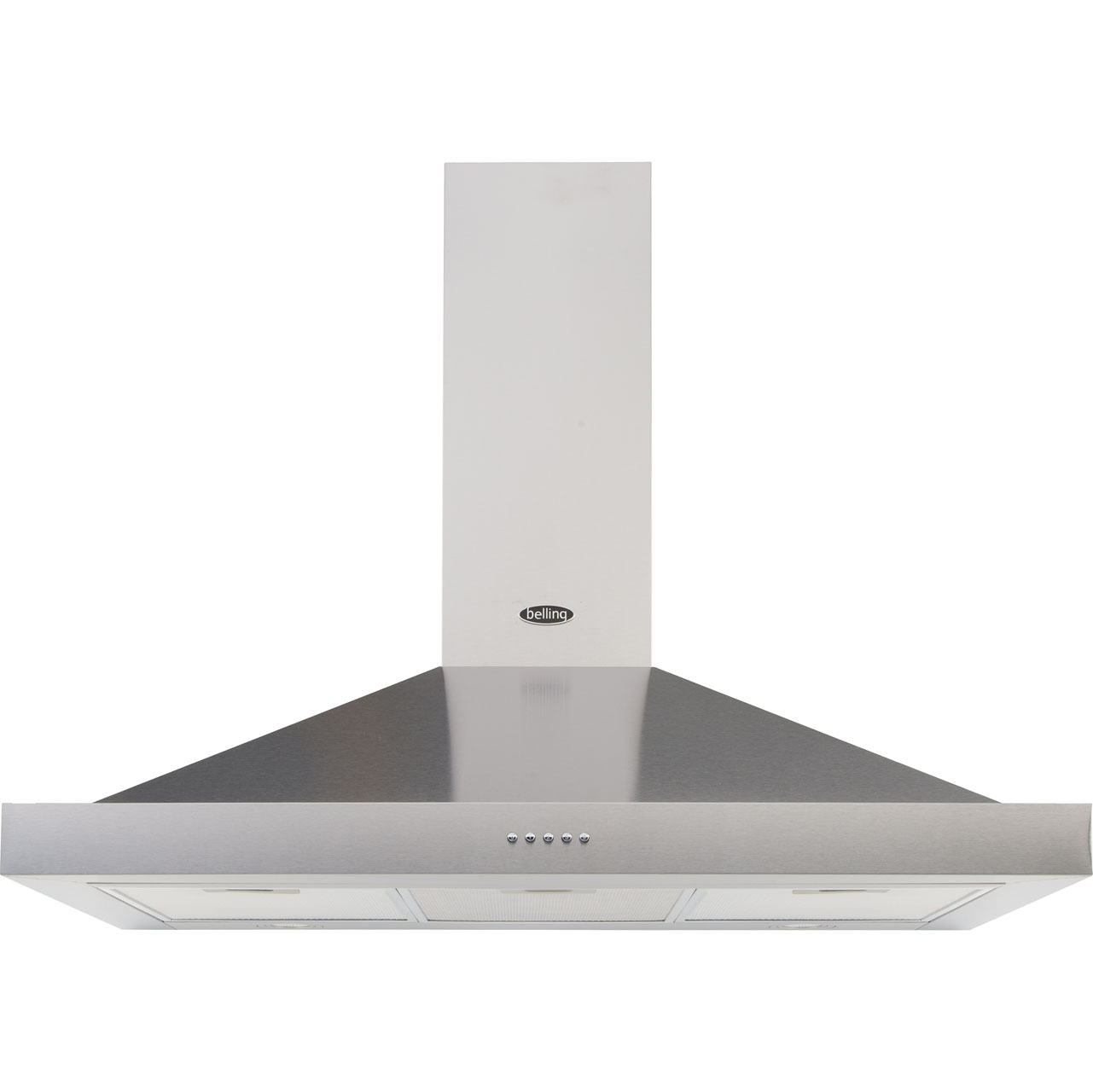 Belling 110DBCHIMMK3 Integrated Cooker Hood in Stainless Steel
