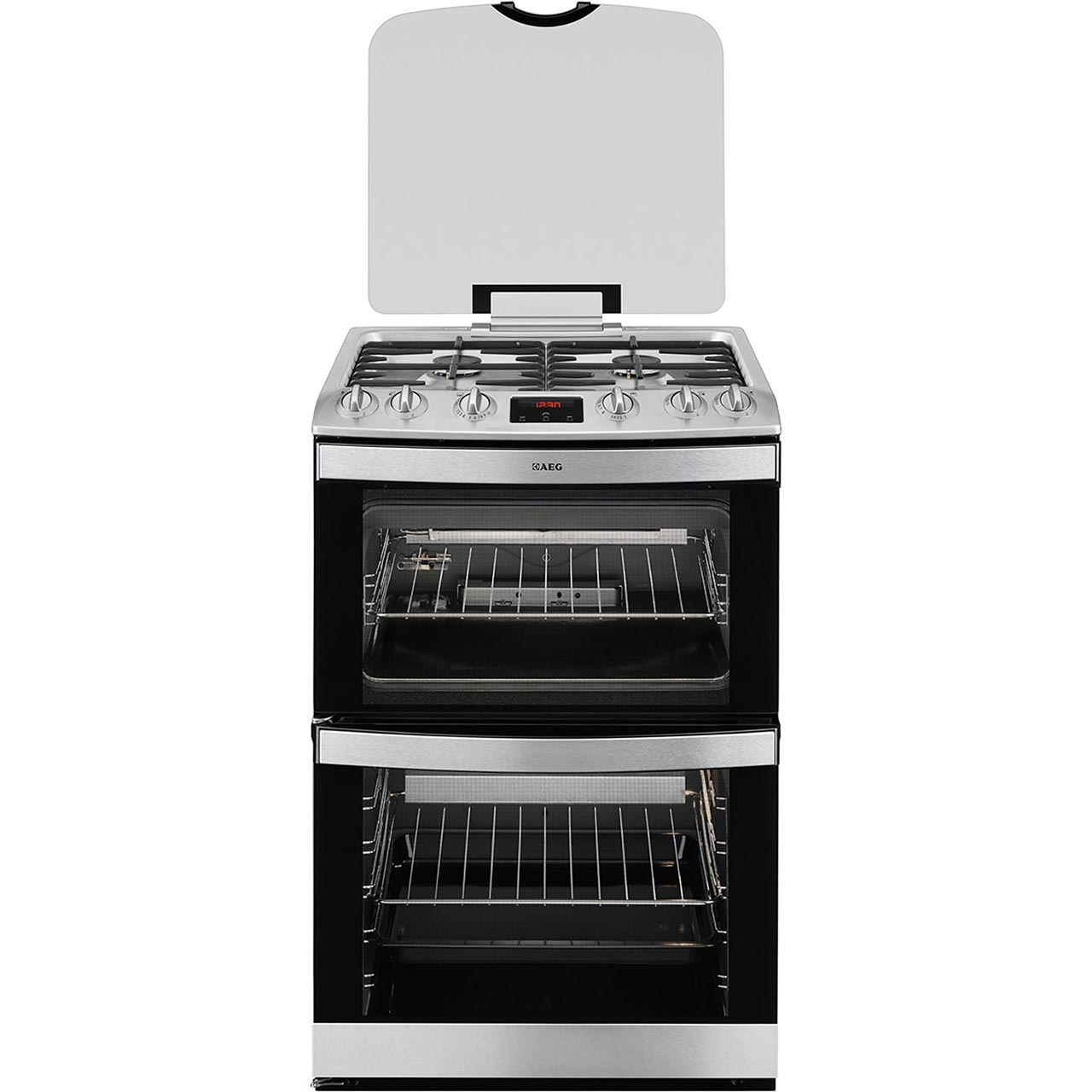 AEG 17166GMMN Free Standing Cooker in Stainless Steel