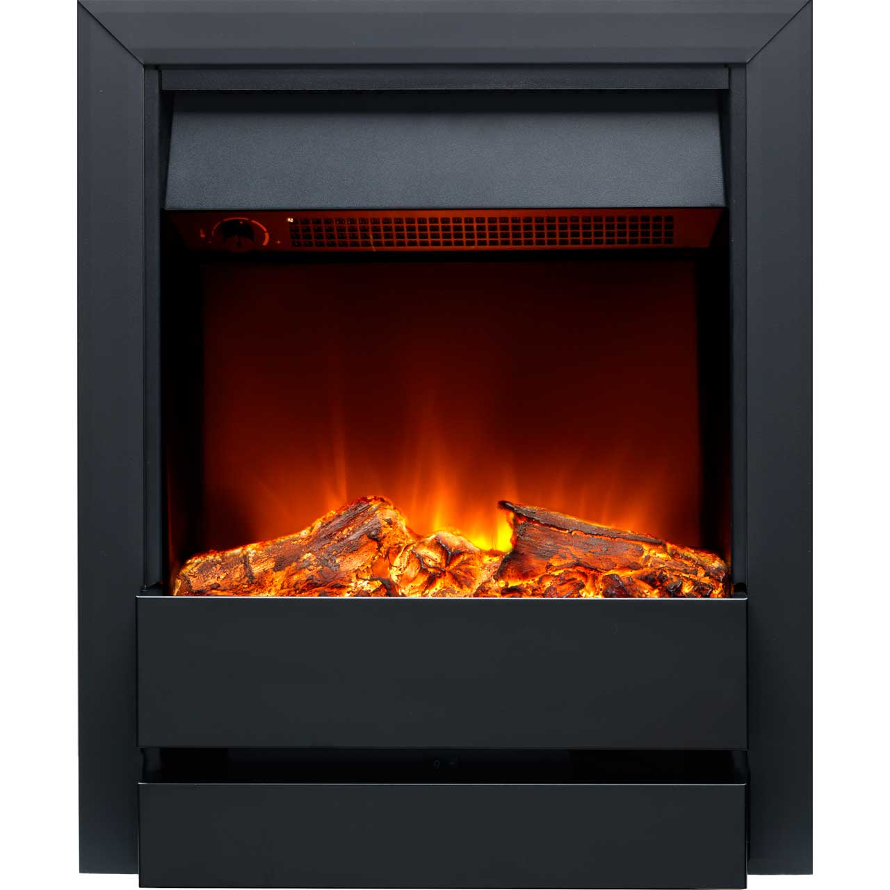 burley wardley 176r bl log effect inset fire with remote control