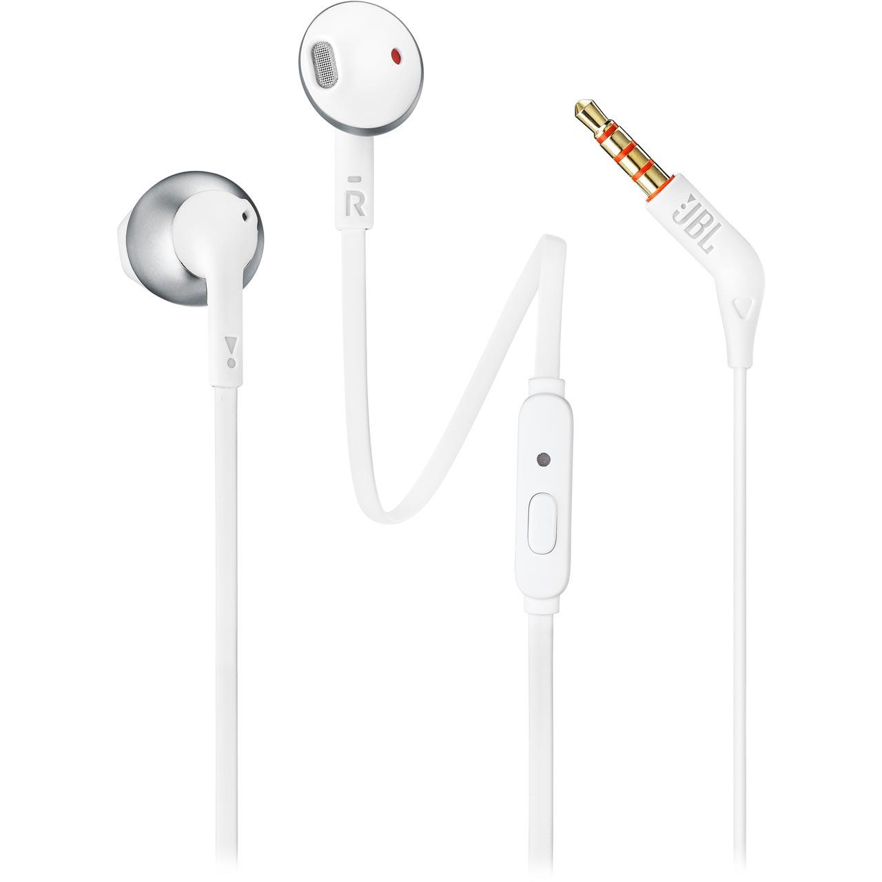 28c6117b22e ... JBL Tune205BT In-Ear Wireless Headphones - Silver - 368802 - 1 ...