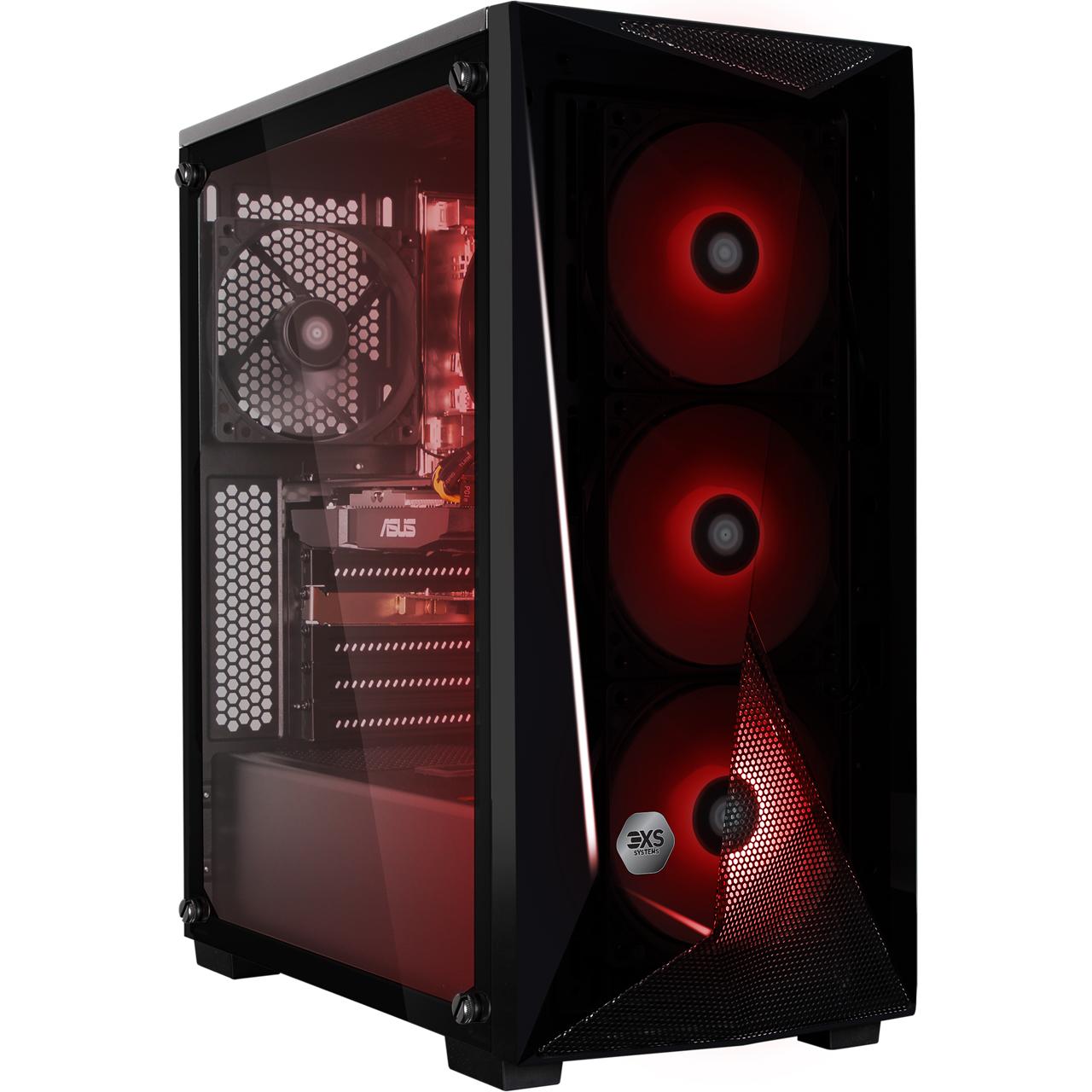 3XS Core Gamer 580 RGB Gaming Tower - Black