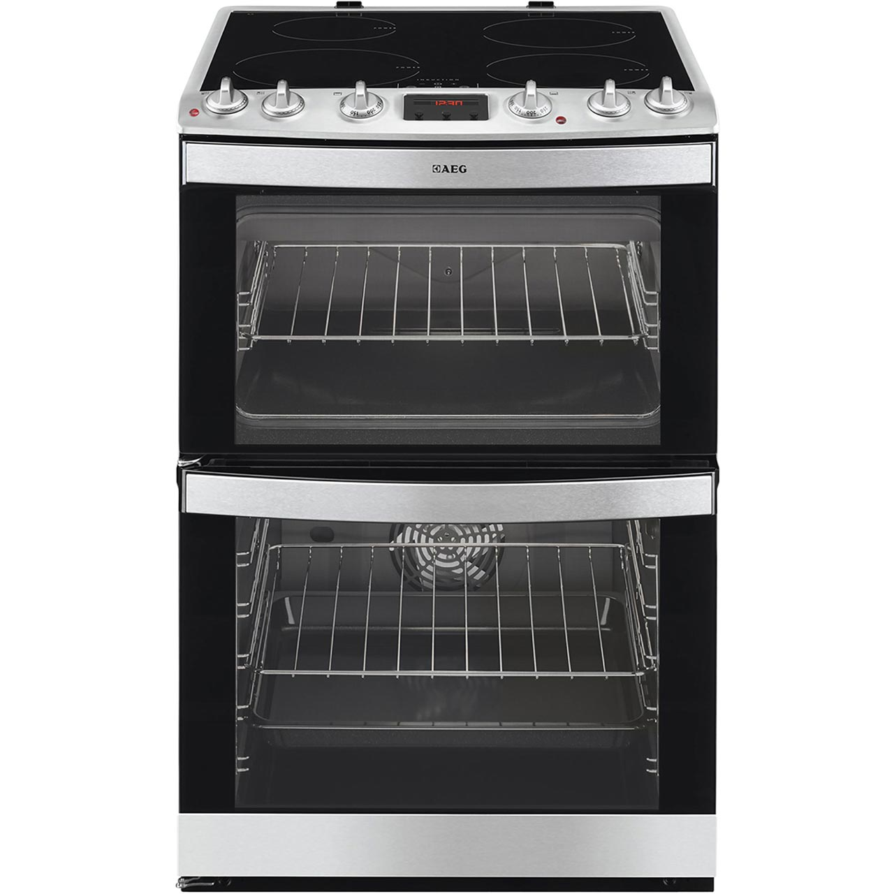 AEG 41102IUMN Free Standing Cooker in Stainless Steel