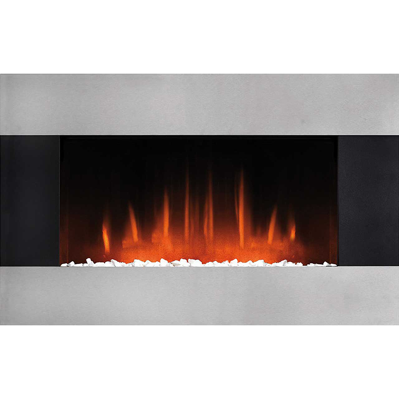 burley 503 r glaston pebble bed electric fire with remote. Black Bedroom Furniture Sets. Home Design Ideas