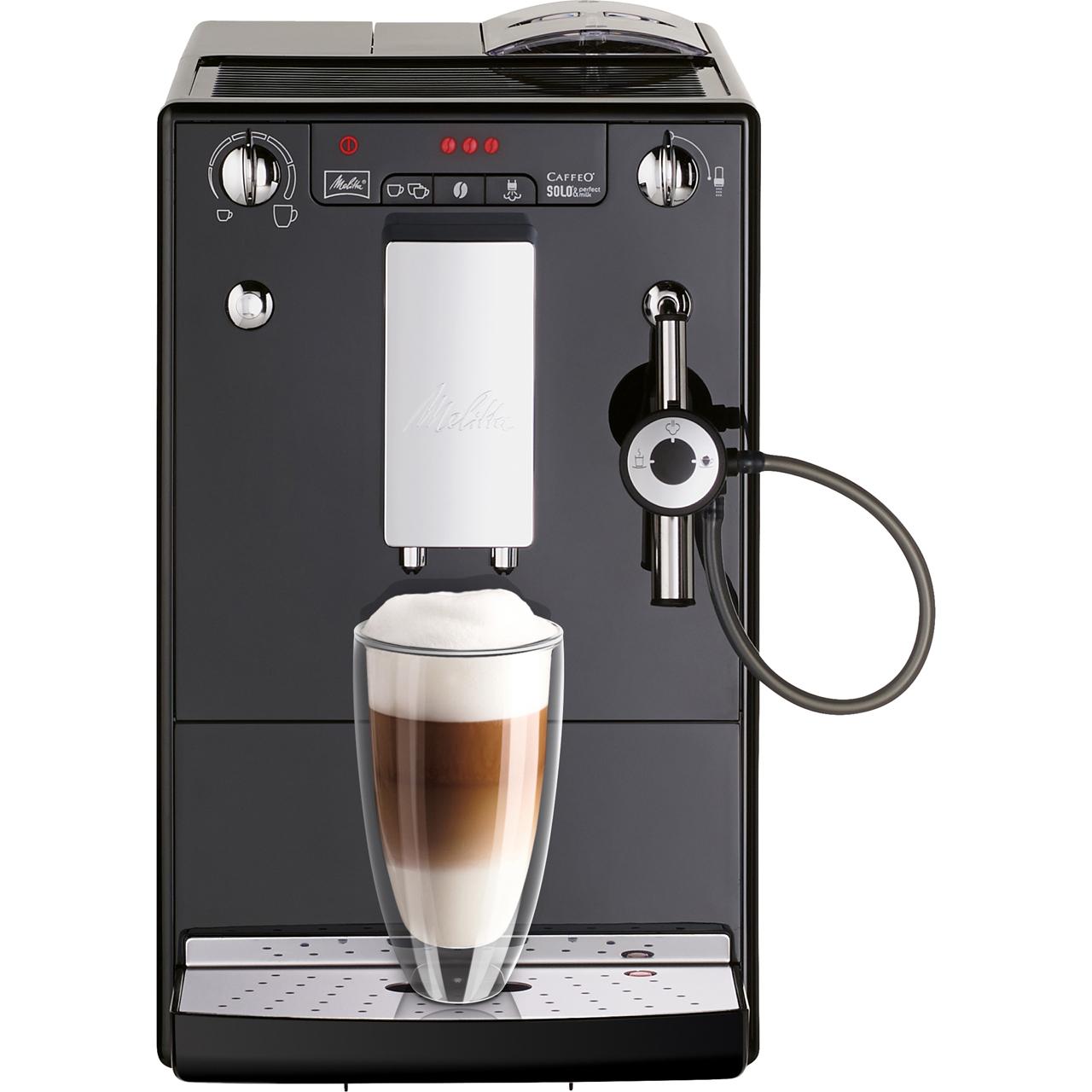 Melitta Caffeo Solo Perfect Milk 6679163 Bean To Cup Coffee Machine Black