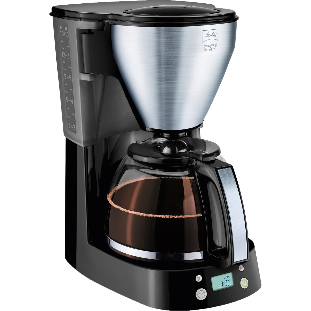 Melitta Easytop Timer 6758193 Filter Coffee Machine With Timer Black