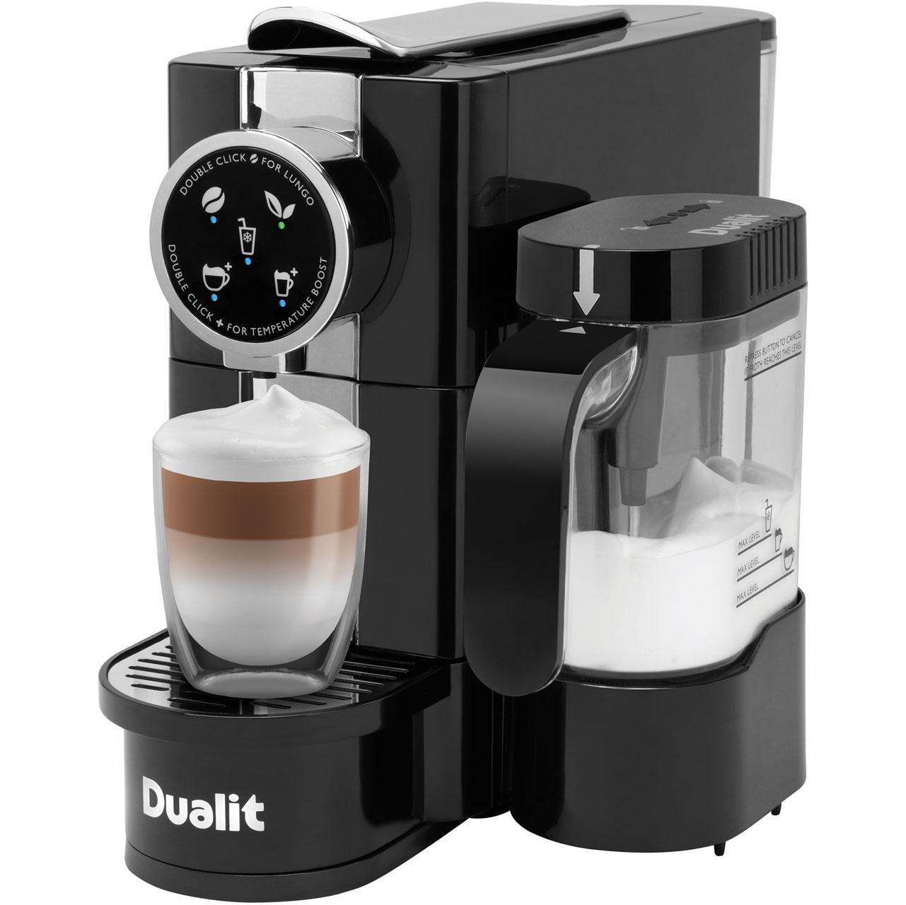 Dualit 85180 Pod Coffee Machine Black Chrome