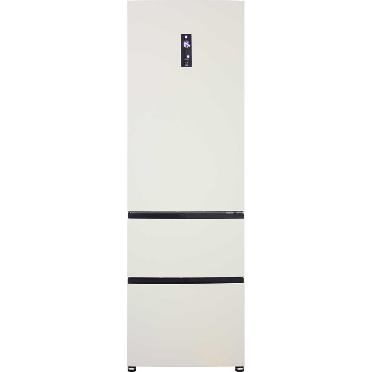 Haier A2FE635CCJ Free Standing Fridge Freezer Frost Free in Cream
