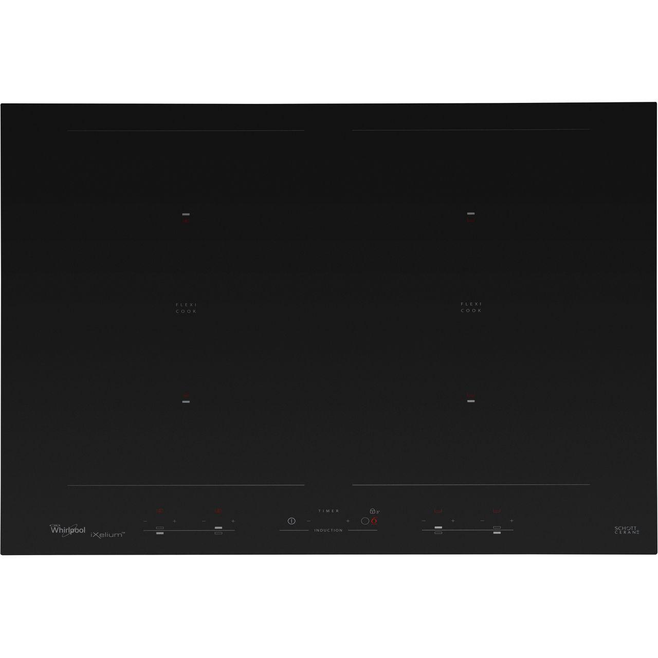 100% authentique a77c5 aaaed Whirlpool ACM868/BA/IXL 65cm Induction Hob - Black