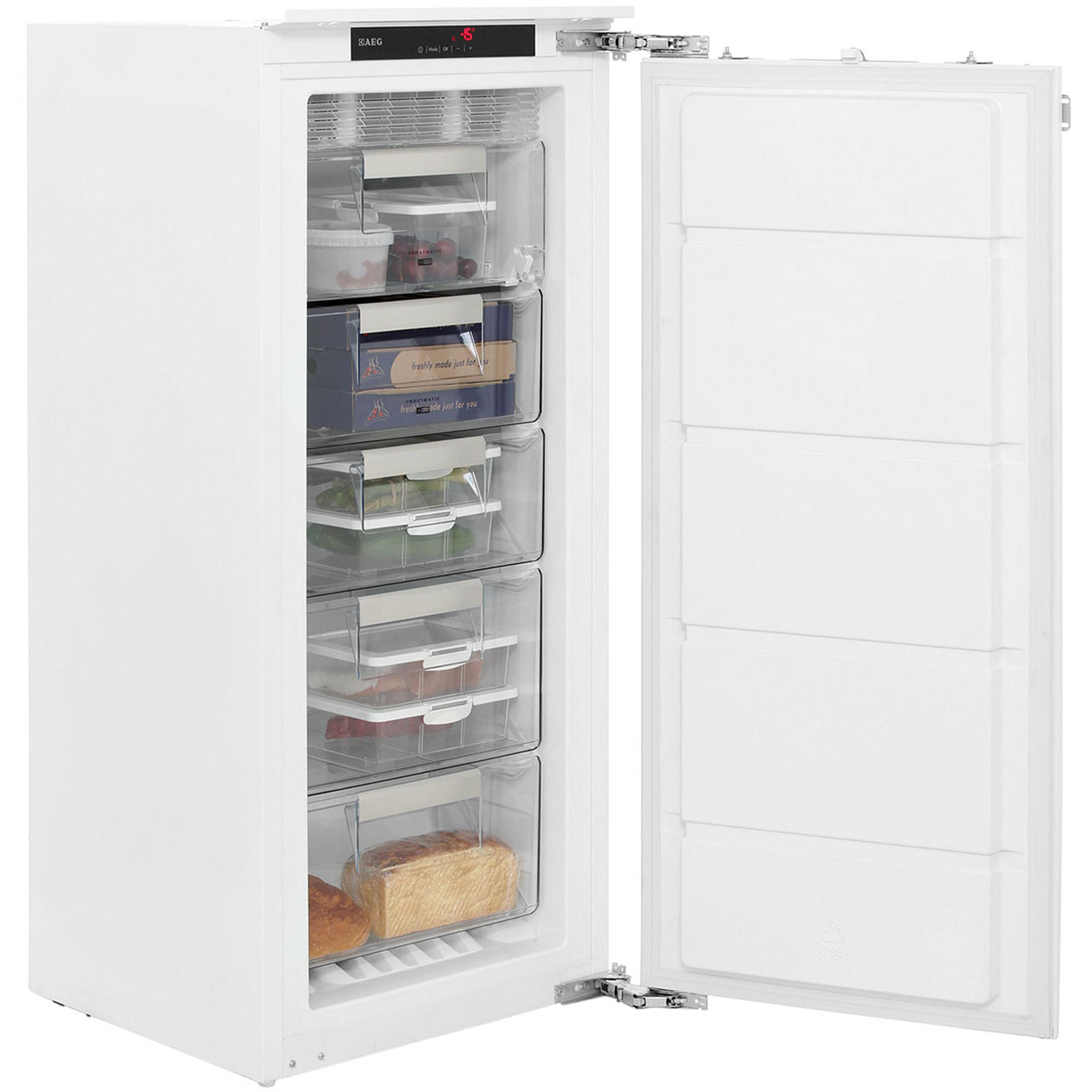 aeg agn58216f1 integrated freezer frost free in white aeg advice questions answered. Black Bedroom Furniture Sets. Home Design Ideas