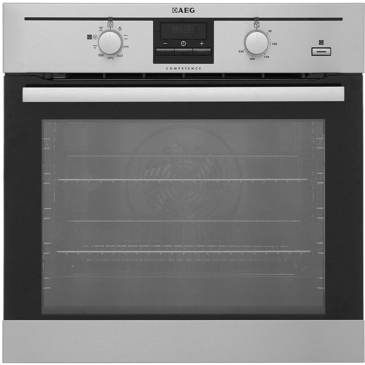AEG Competence BE200362KM Integrated Single Oven in Stainless Steel