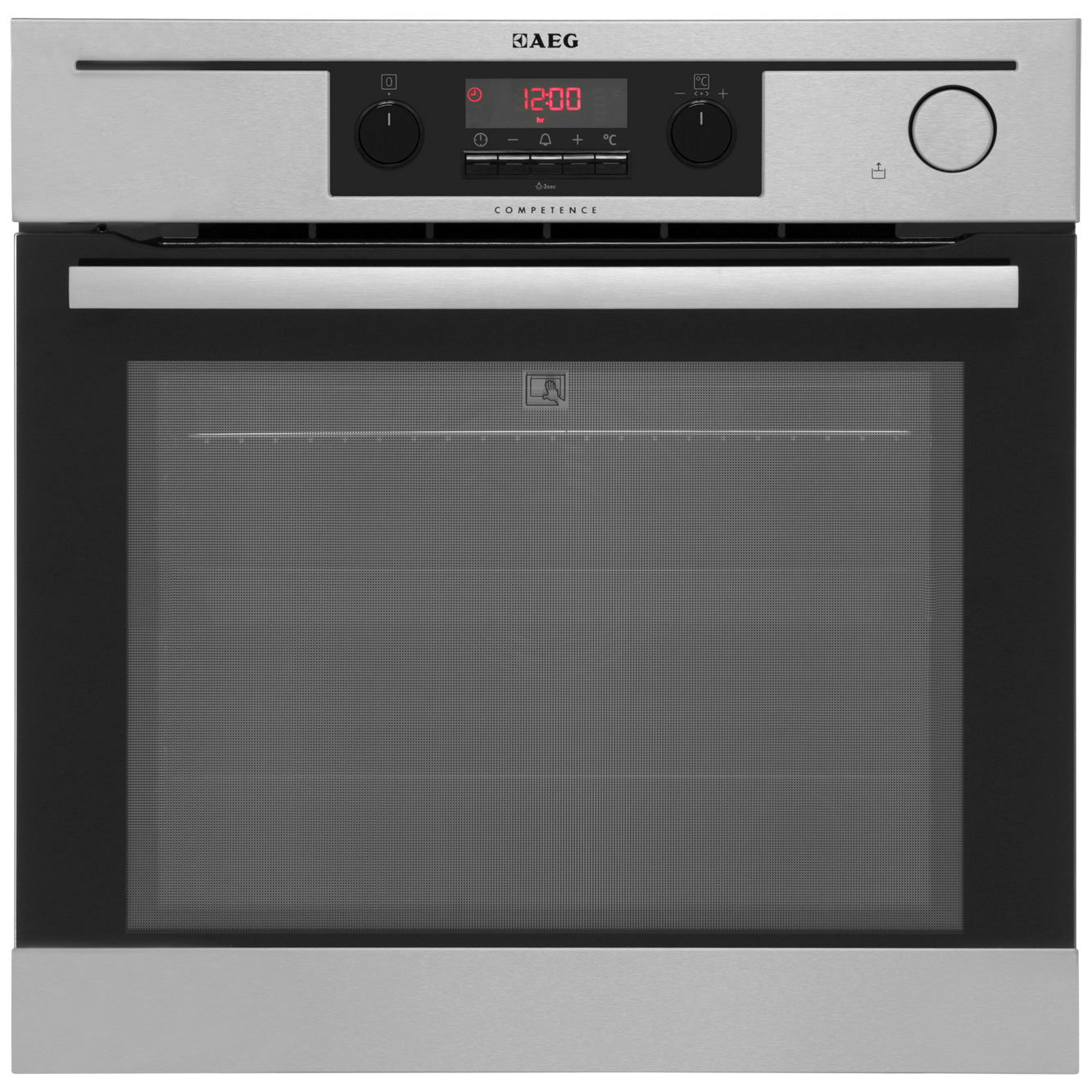 AEG Competence BP5014321M Built In Electric Single Oven - Stainless Steel