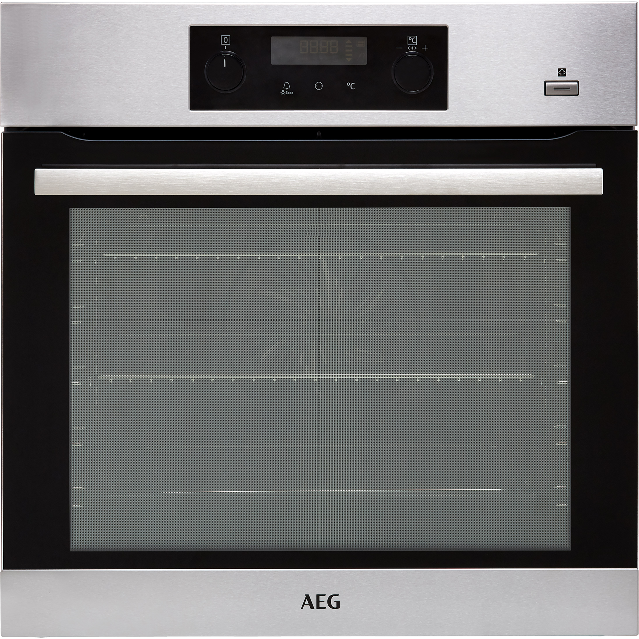 AEG Electric Single Oven - Stainless Steel - A+ Rated