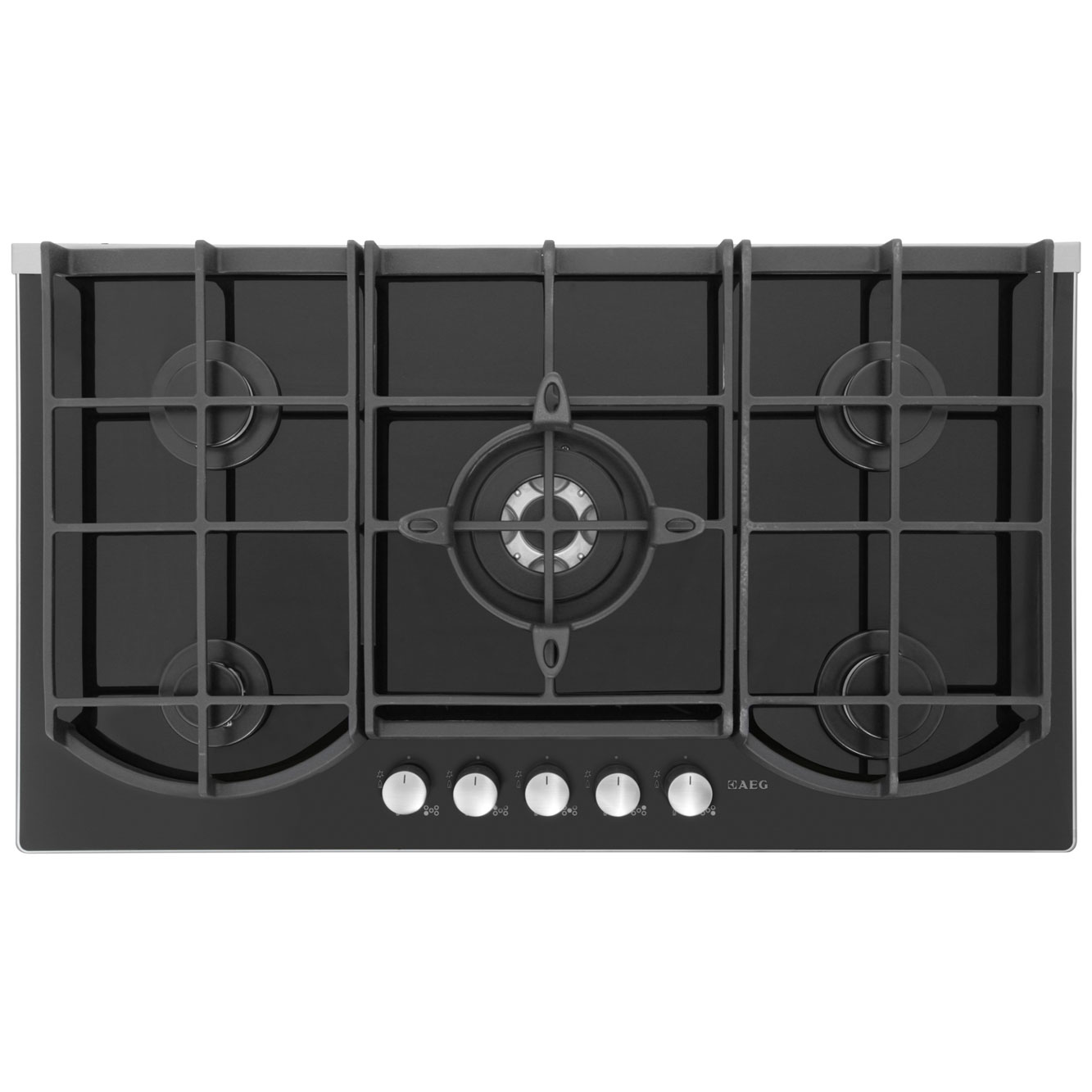 AEG Competence HG995440NB Integrated Gas Hob in Black