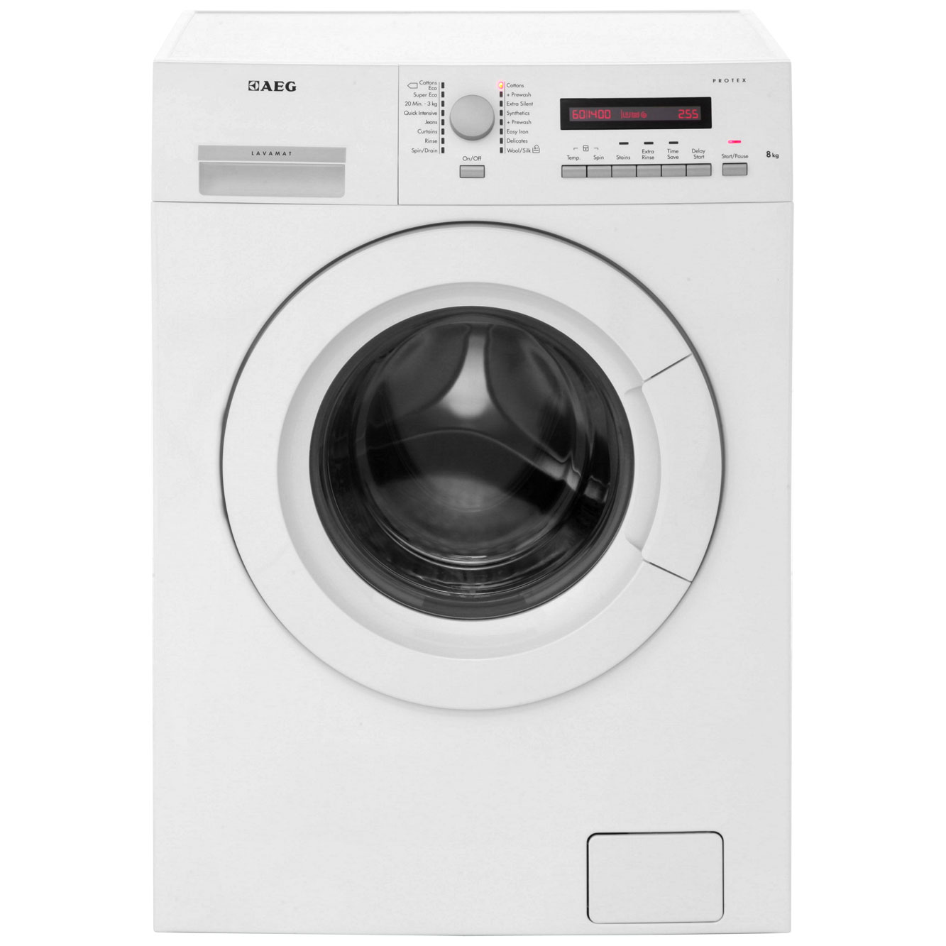 AEG Lavamat L73483FL Free Standing Washing Machine in White