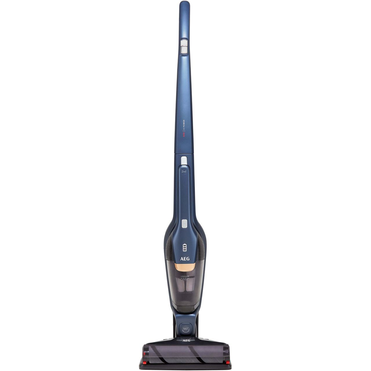 AEG QX8 X Power Pro QX8-1-45IB Cordless Vacuum Cleaner with up to 45 Minutes Run Time
