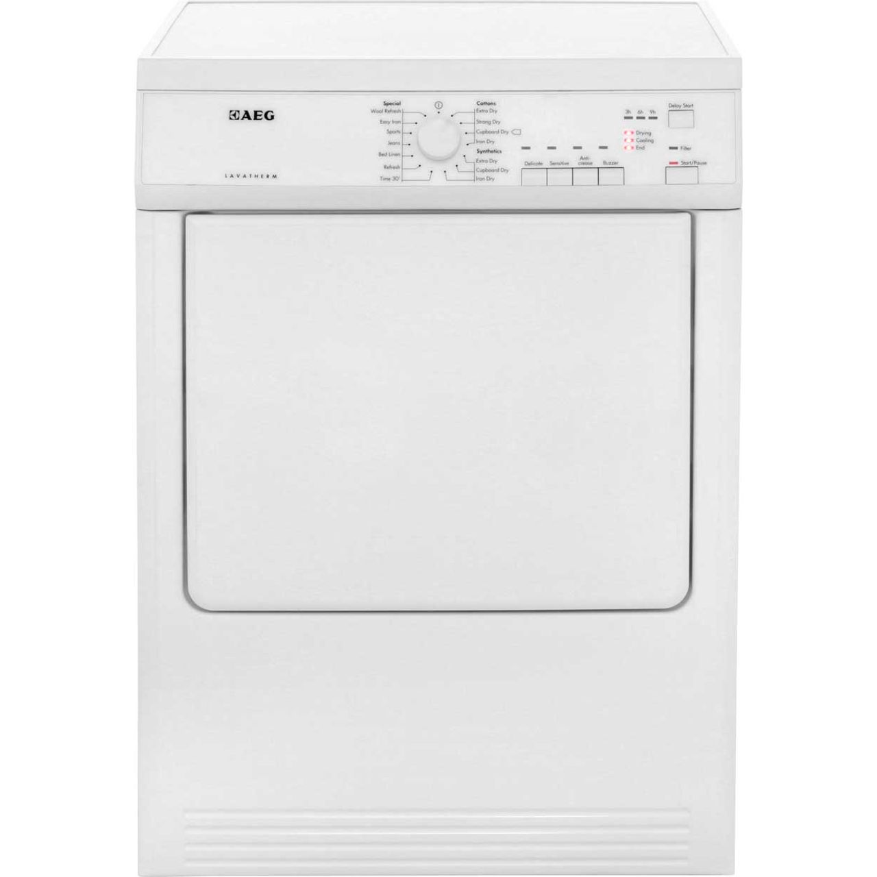 AEG 7Kg Vented Tumble Dryer - White - C Rated