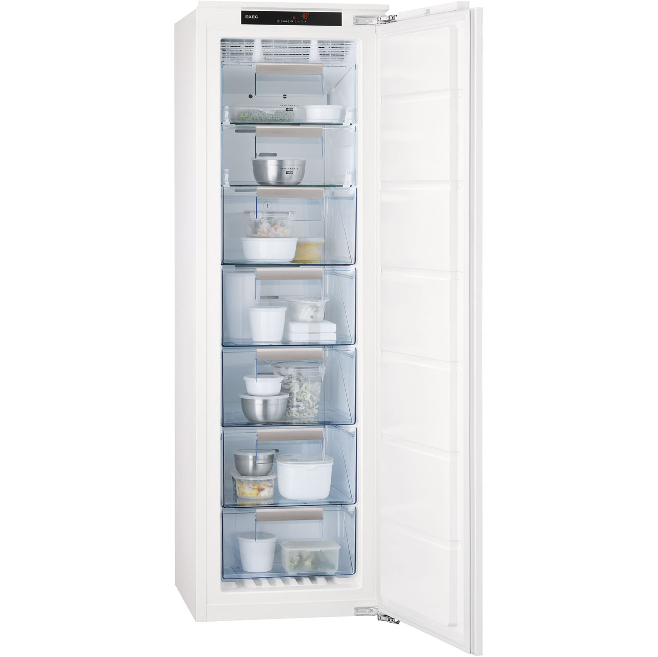 AEG AGN71816C1 Integrated Freezer Frost Free in White