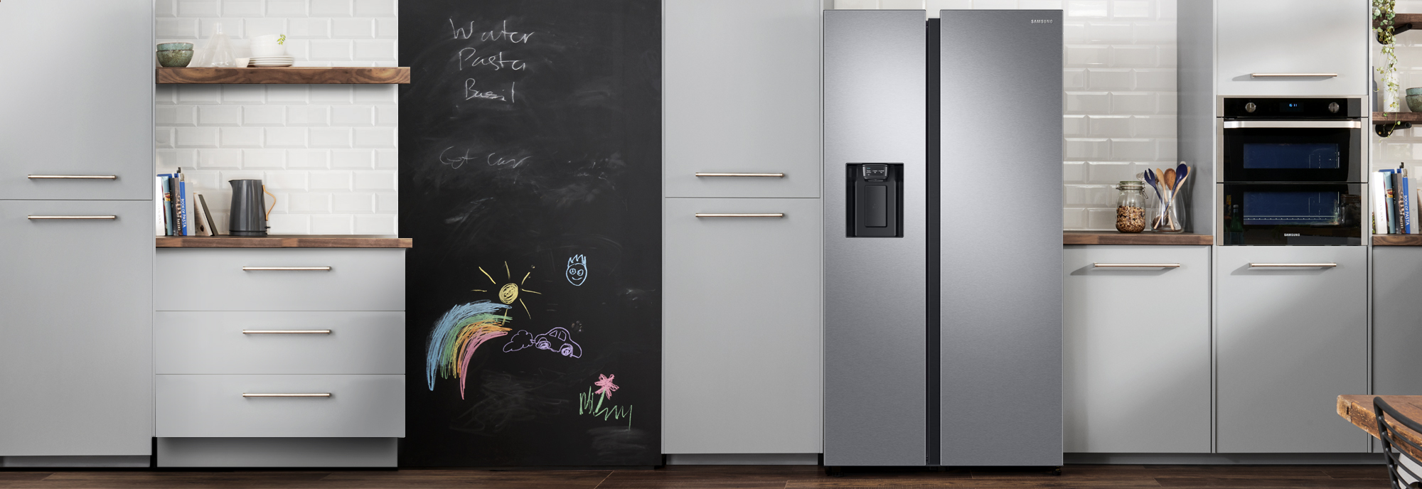 Samsung Rs8000 Rs68n8220sl American Fridge Freezer Aluminium