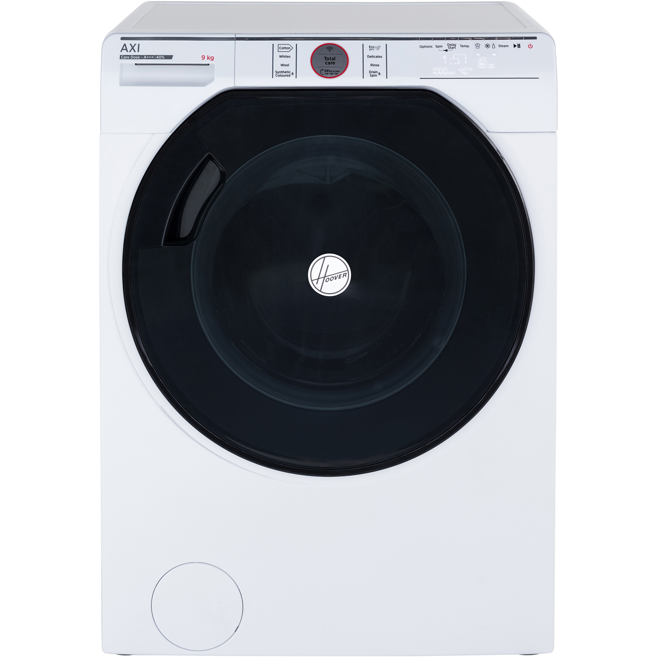 11ee50c216917 ... Hoover AXI AWMPD413LH7 Wifi Connected 13Kg Washing Machine with 1400  rpm - White - A+++ Rated ...