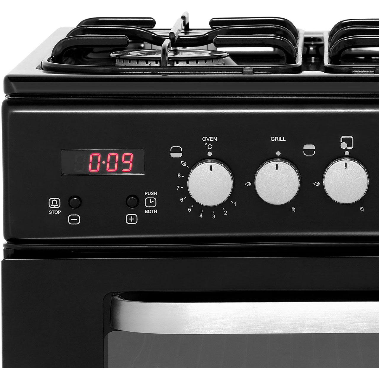 Baumatic Kitchen Appliances Bcg520w Wh Baumatic Gas Cooker White Aocom