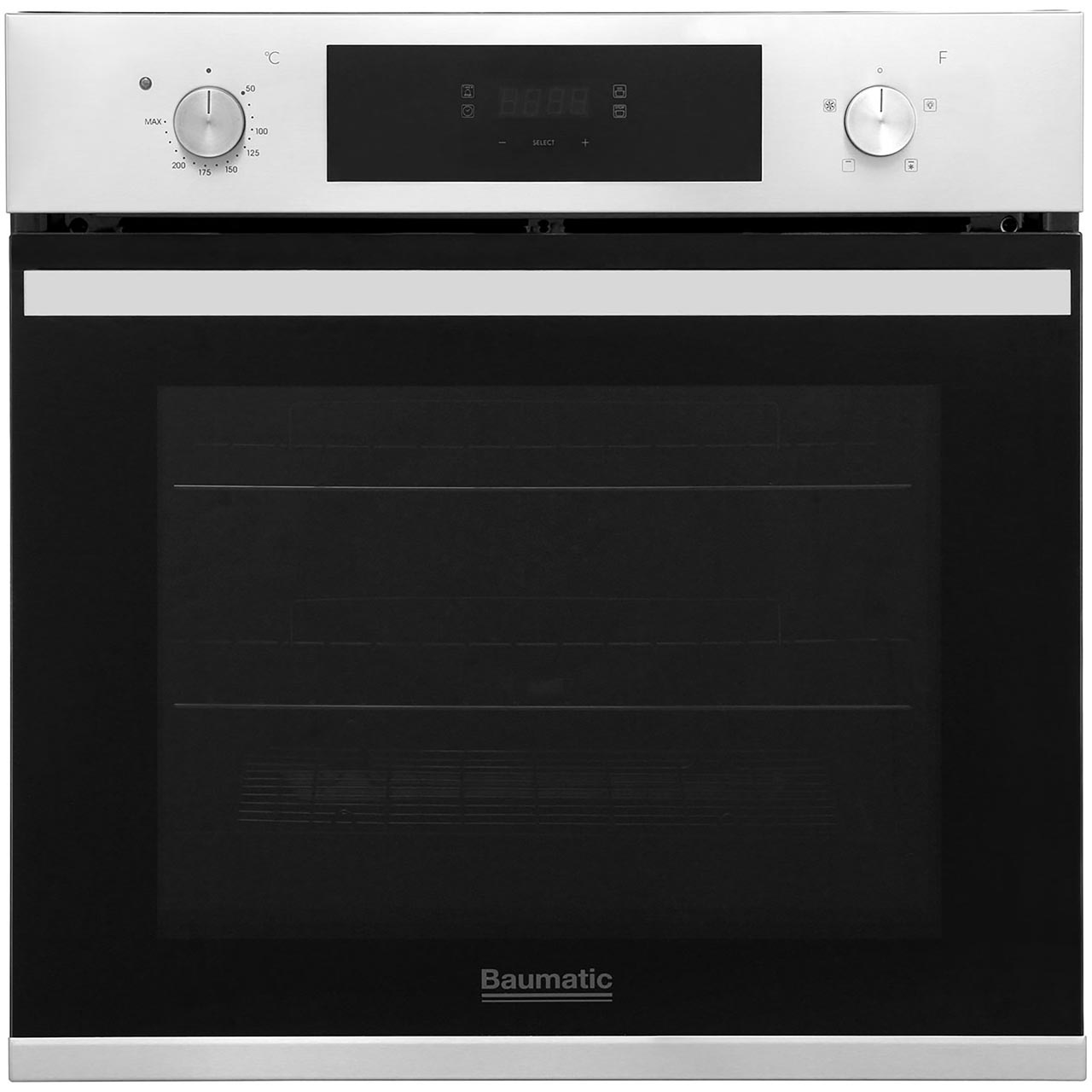 Single Oven With Grill Part - 20: BOFT604X_SS | Baumatic Single Oven | Grill Setting | Ao.com