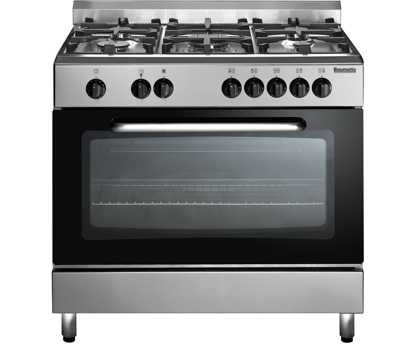 Baumatic BC391.3TCSS Free Standing Range Cooker in Stainless Steel