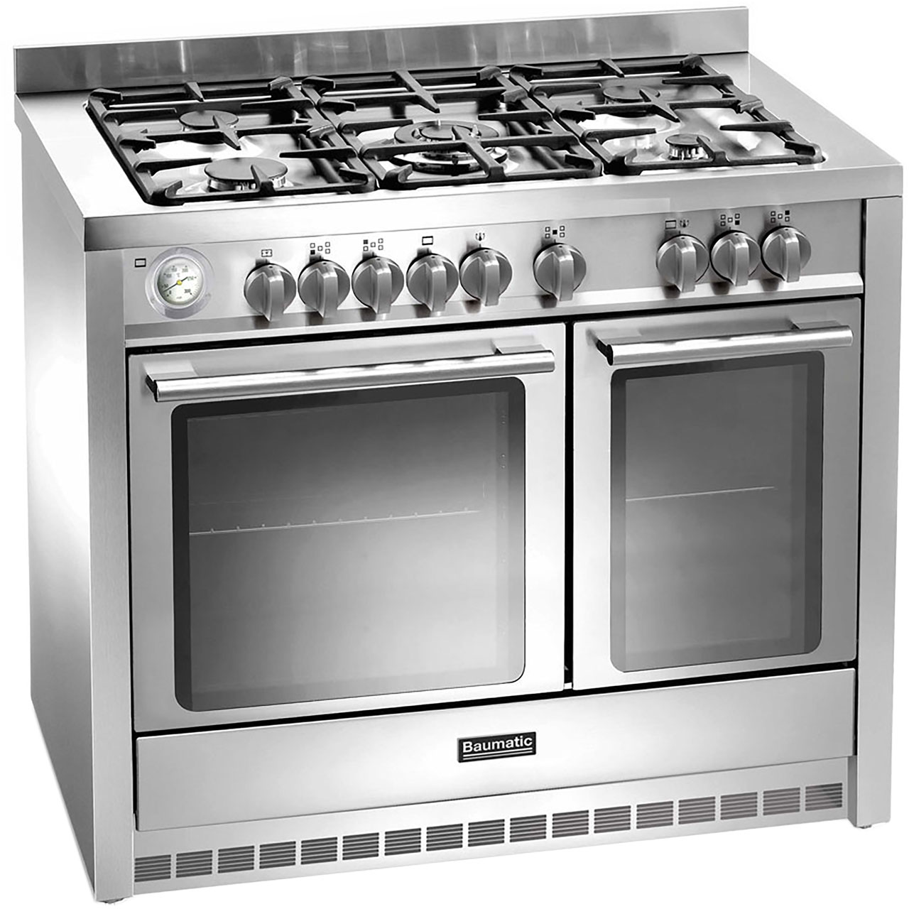 Baumatic BCD1025SS Free Standing Range Cooker in Stainless Steel