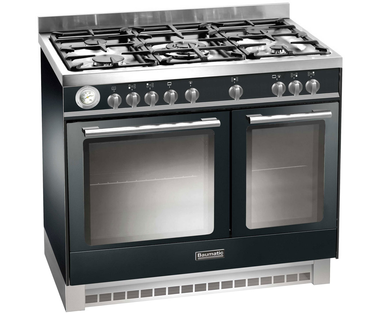 Baumatic BCD925BL Free Standing Range Cooker in Black