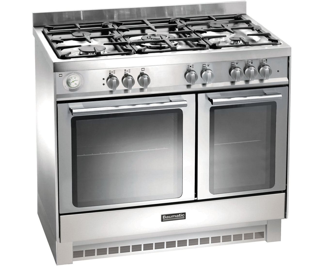 Baumatic BCG925SS 90cm Gas Range Cooker - Stainless Steel