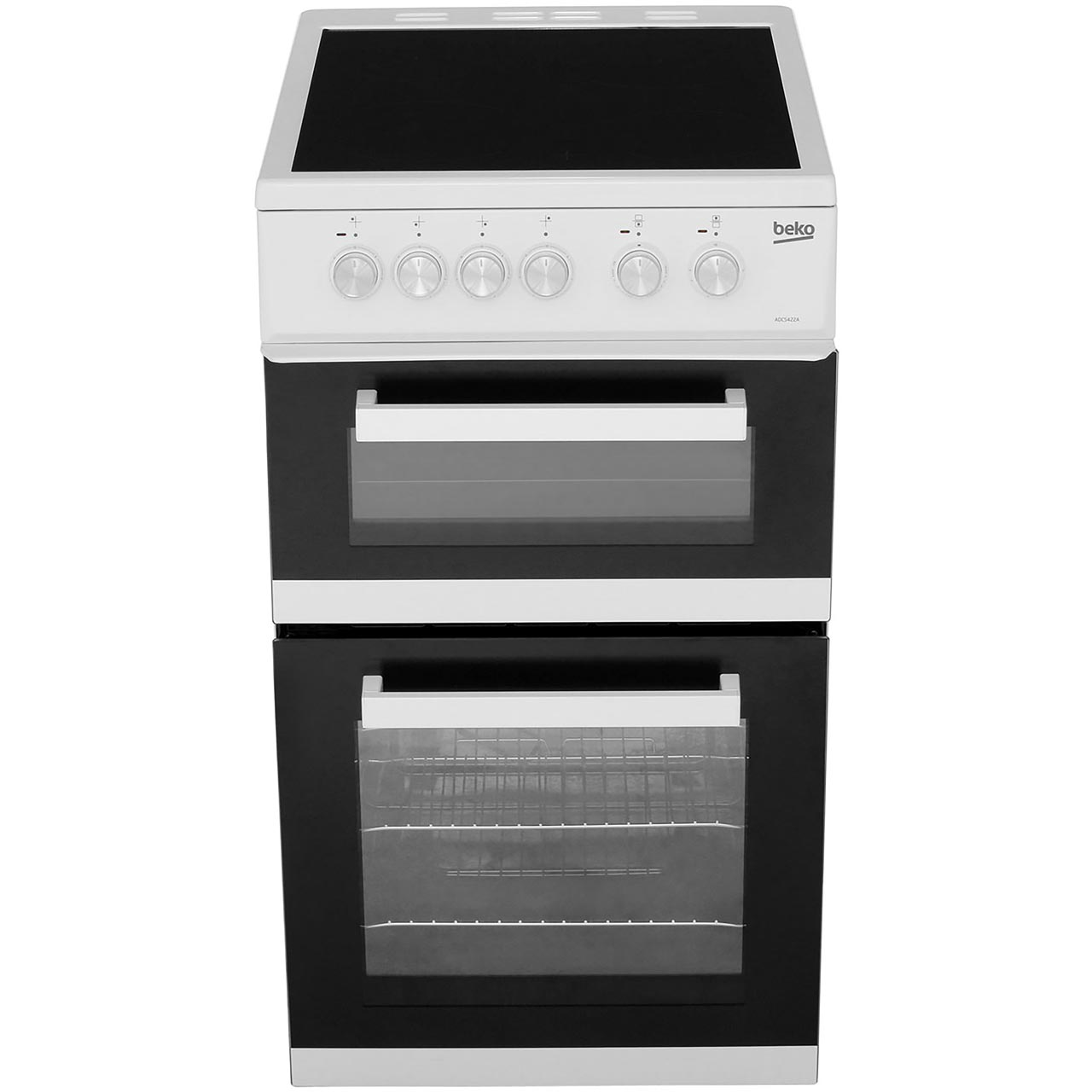 Adc5422aw Wh Beko Electric Cooker Rapidlite Zones Wiring Oven And Gas Hob