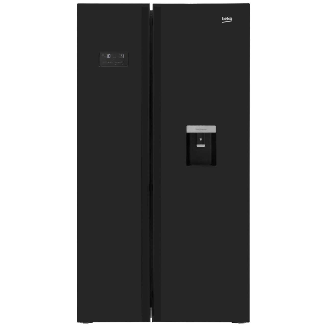 Beko ASDL251B American Fridge Freezer - Black
