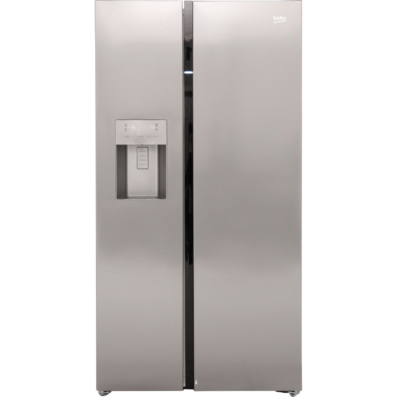 beko asgn542x american fridge freezer stainless steel. Black Bedroom Furniture Sets. Home Design Ideas