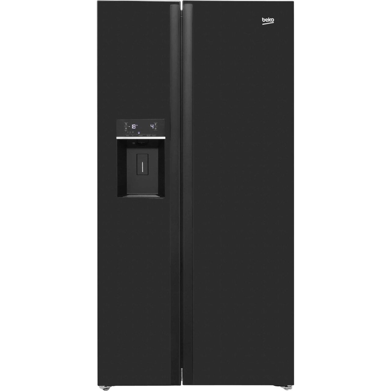 beko american fridge freezer asnl551b. Black Bedroom Furniture Sets. Home Design Ideas