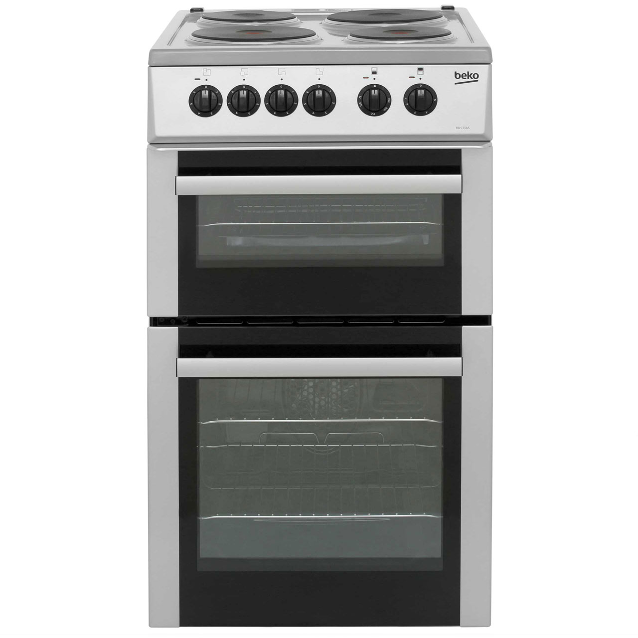 Beko BD533AS Free Standing Cooker in Silver