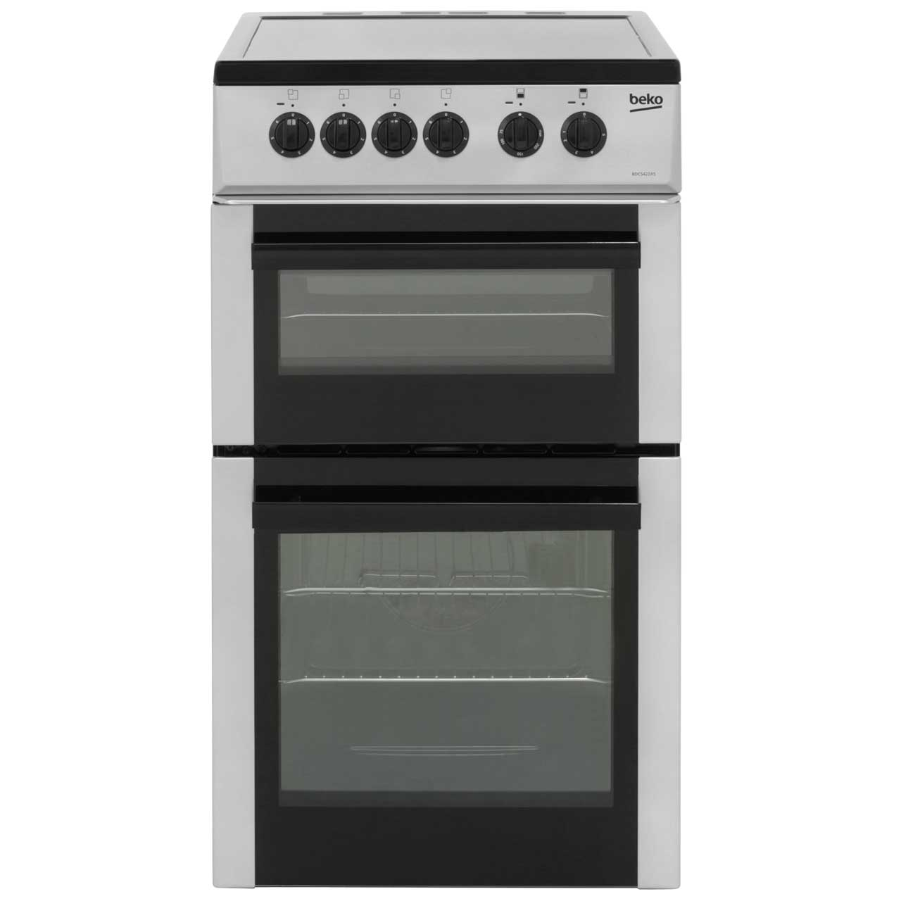Beko BDC5422AS Free Standing Cooker in Silver