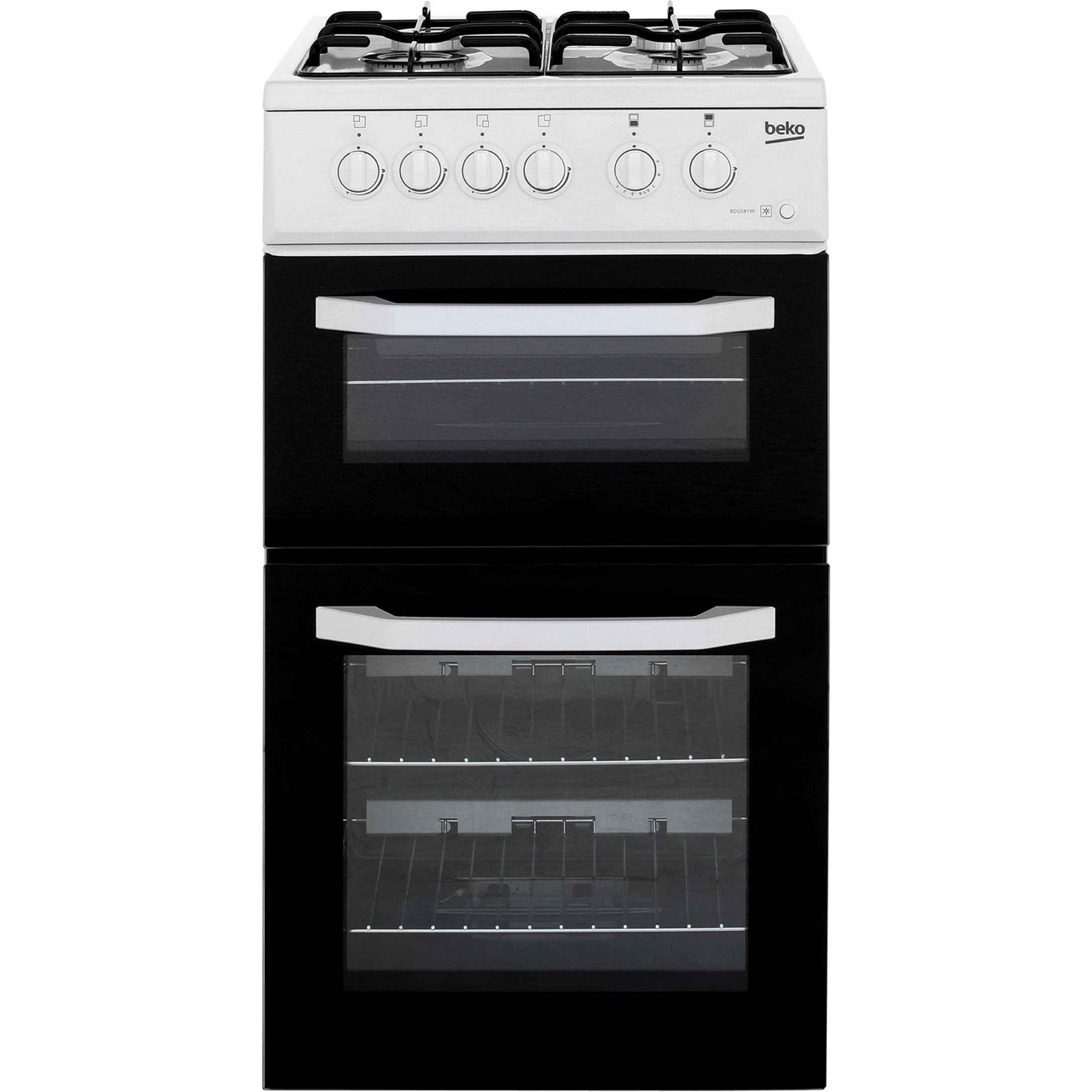 Beko BDG581W Free Standing Cooker in White