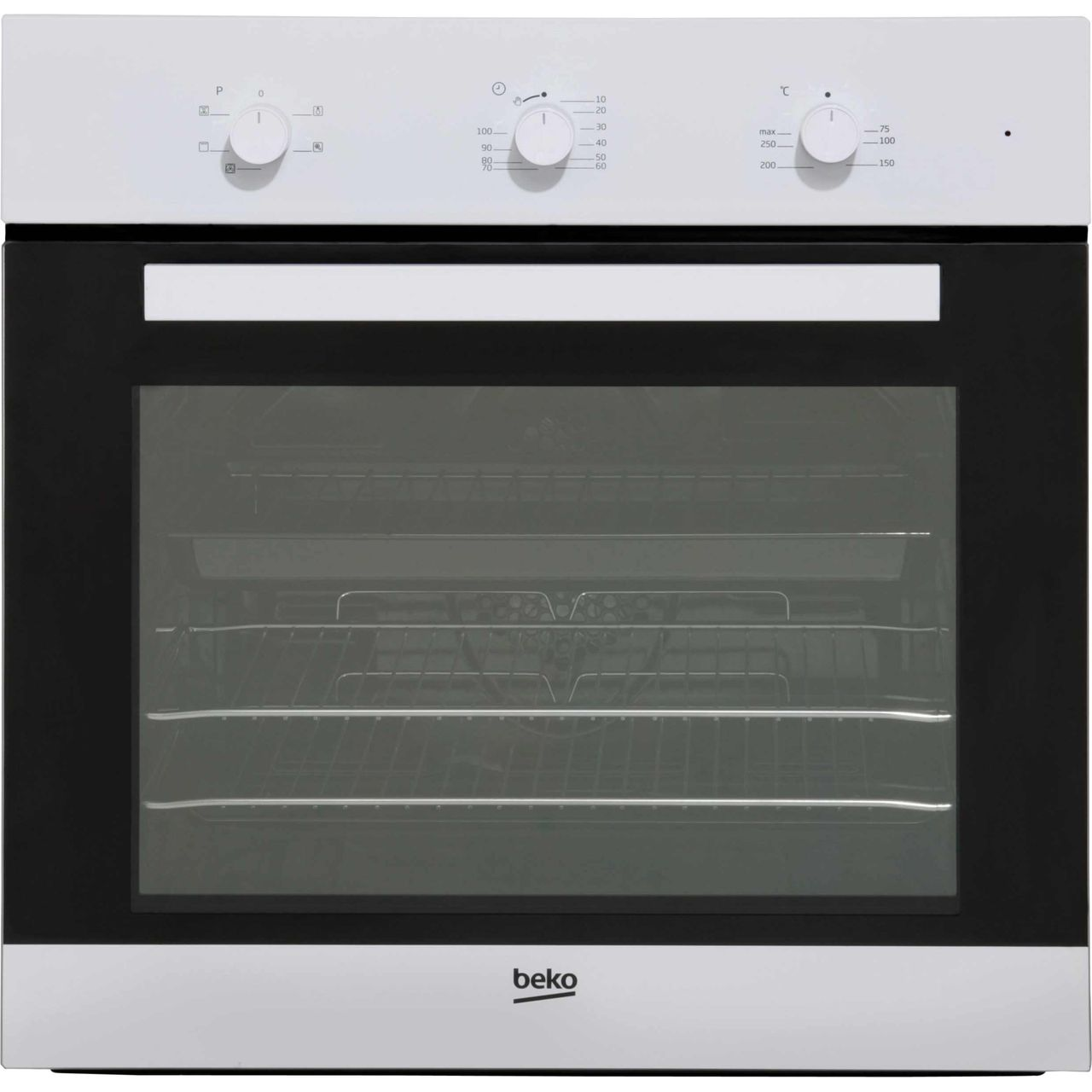 Beko EcoSmart BIF22100W Built In Electric Single Oven - White