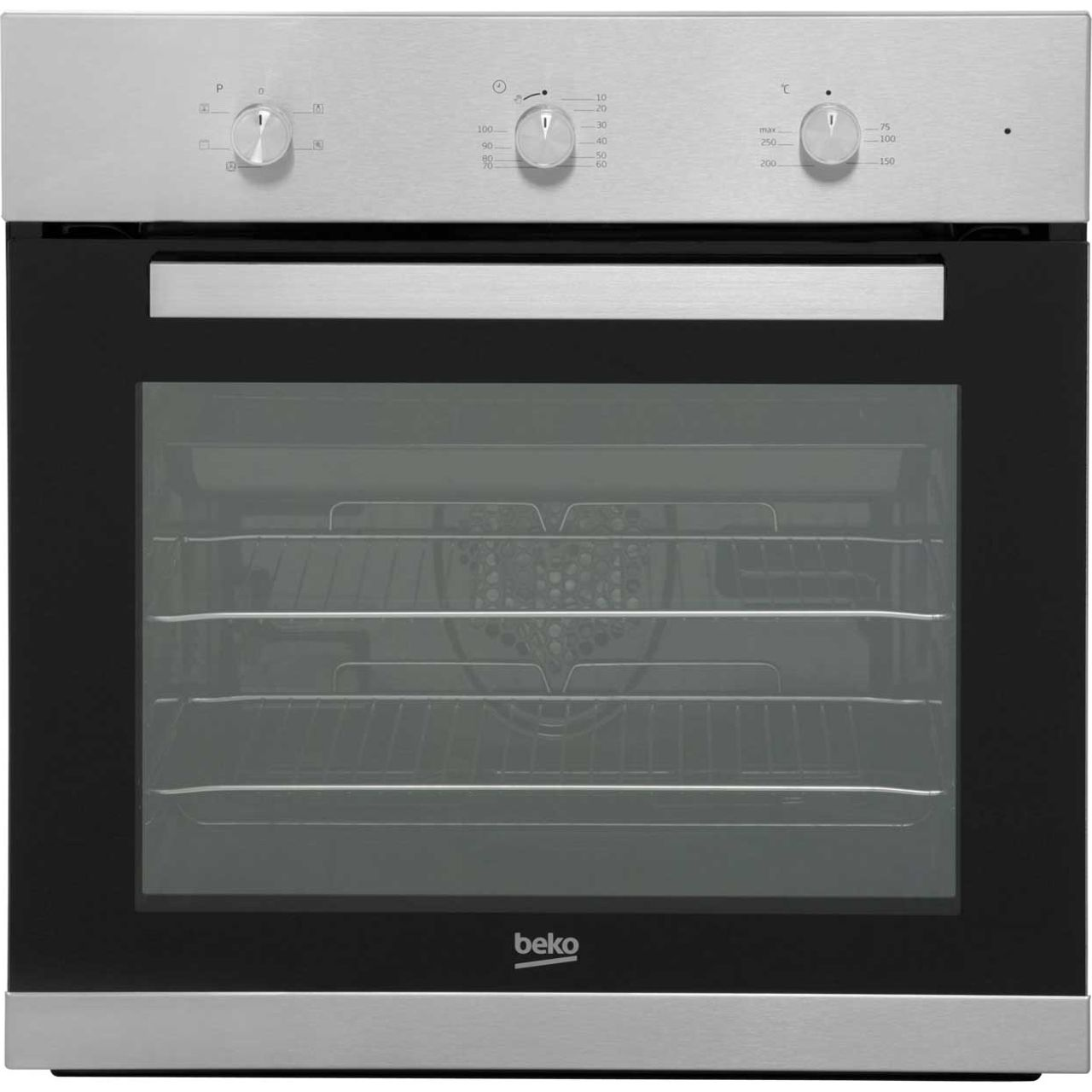 Beko EcoSmart BIF22100X Built In Electric Single Oven - Stainless Steel