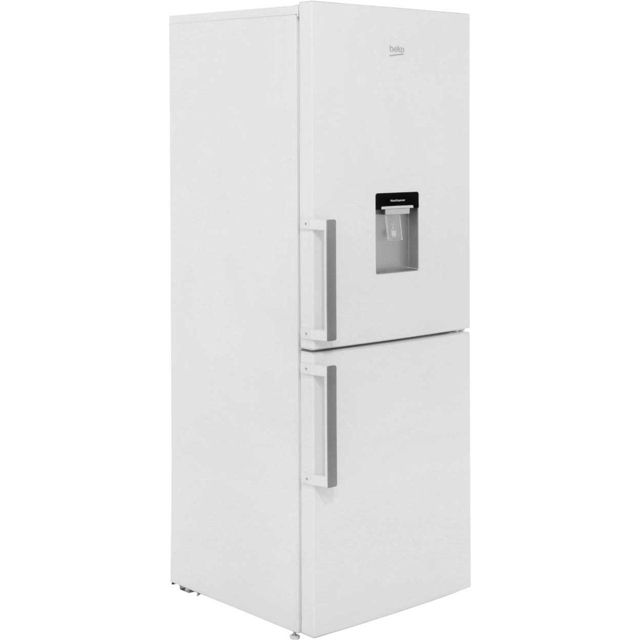 beko cfp1675dw 60 40 frost free fridge freezer white. Black Bedroom Furniture Sets. Home Design Ideas