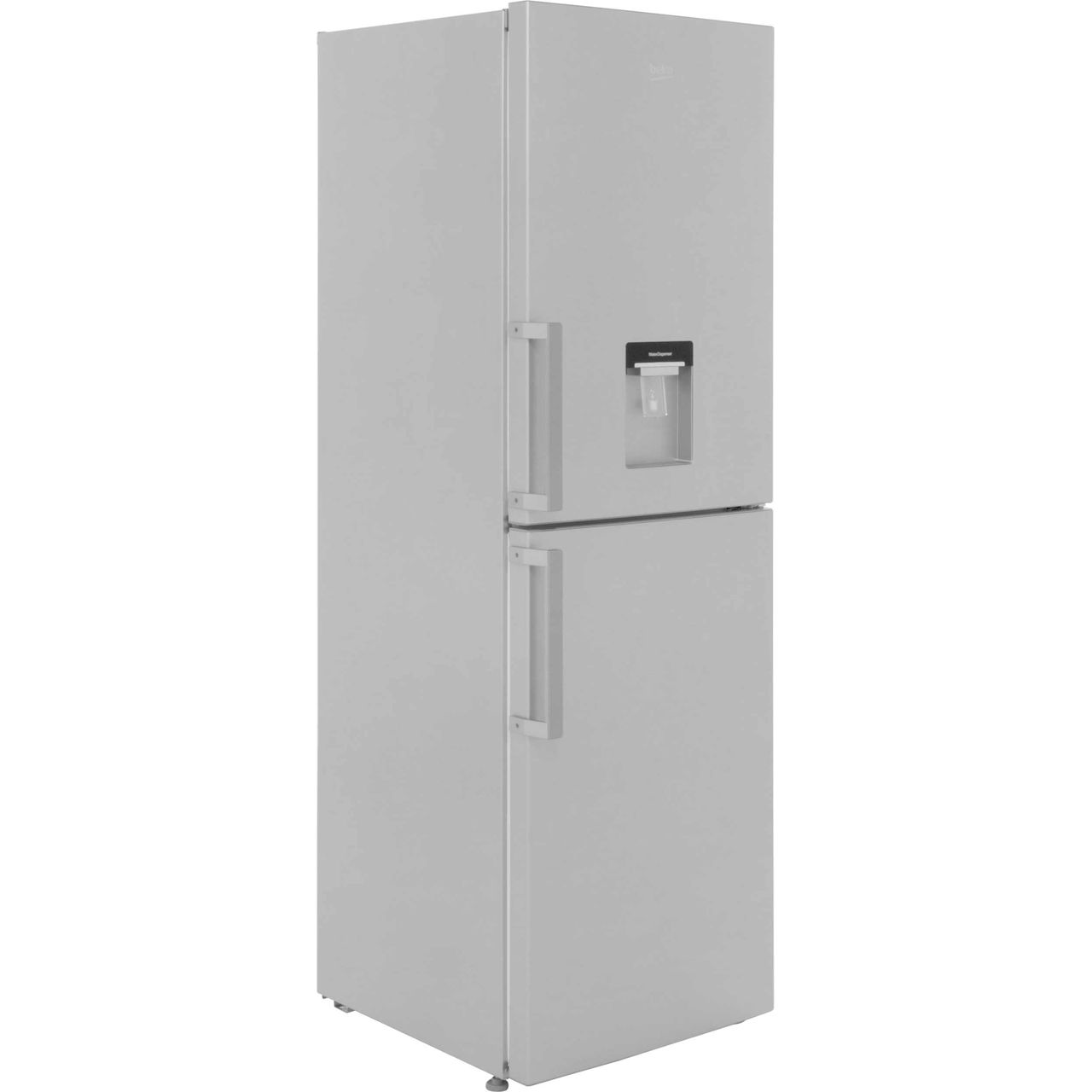 Beko CFP1691DS Free Standing Fridge Freezer Frost Free in Silver