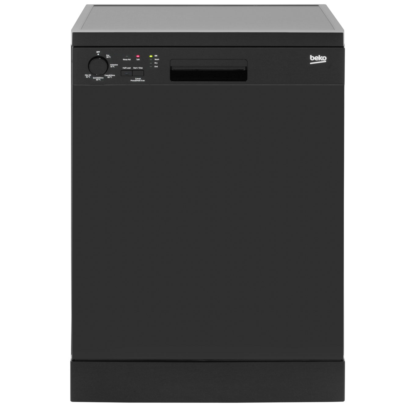 Beko DFC05R10B Standard Dishwasher - Black