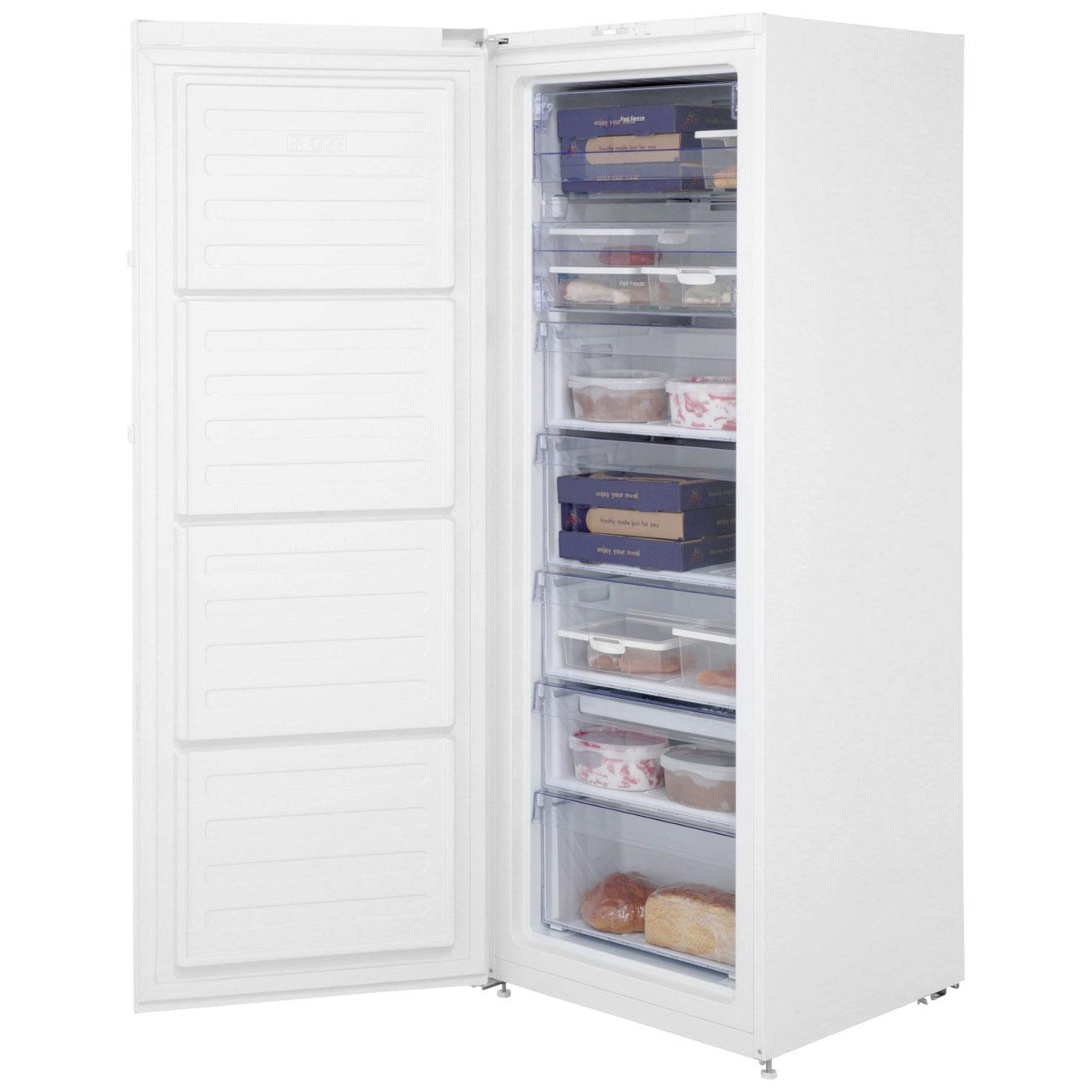 Beko Ffp1671w Upright Freezer White