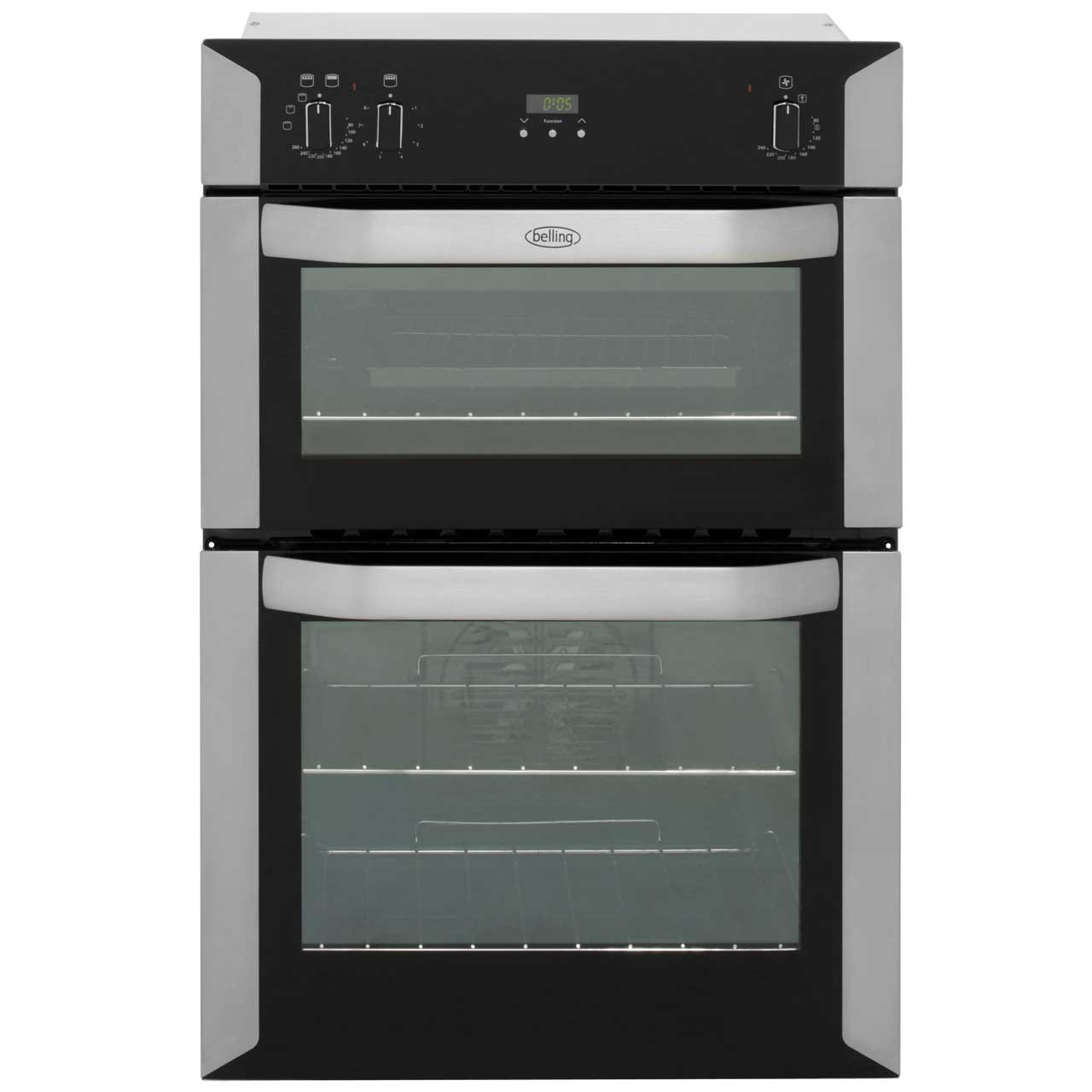belling bi90fp built in 60cm electric double oven. Black Bedroom Furniture Sets. Home Design Ideas
