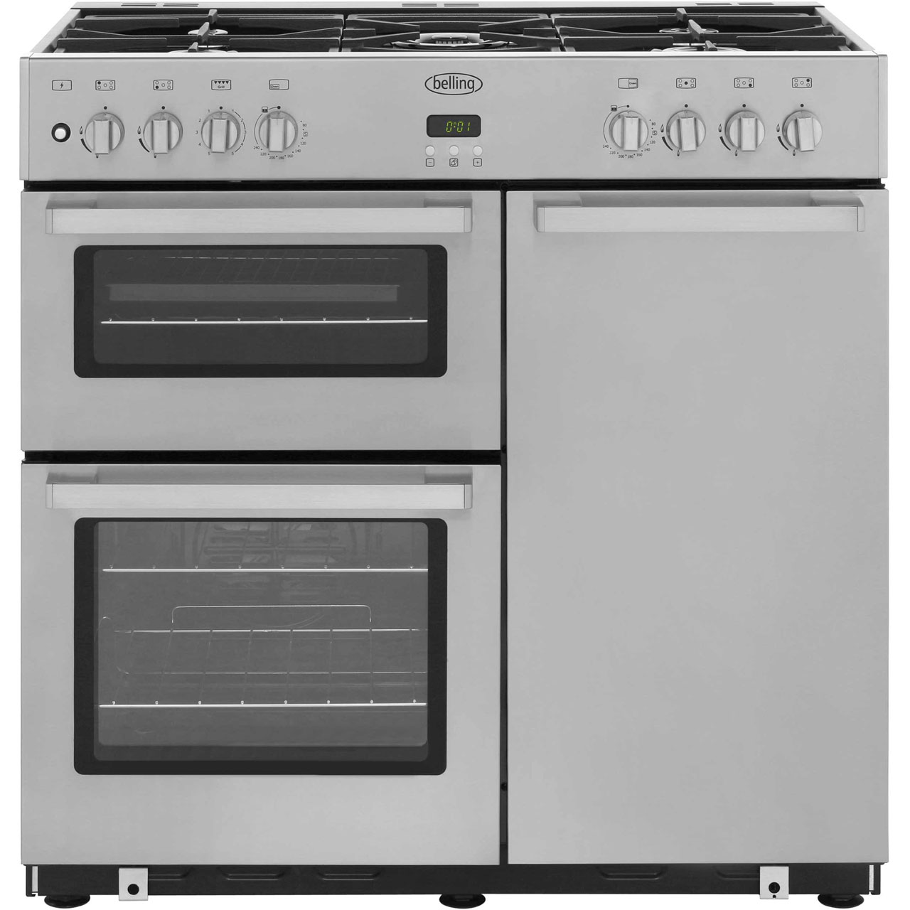 Uncategorized Belling Kitchen Appliances belling db490dftprof 90cm dual fuel range cooker stainless steel