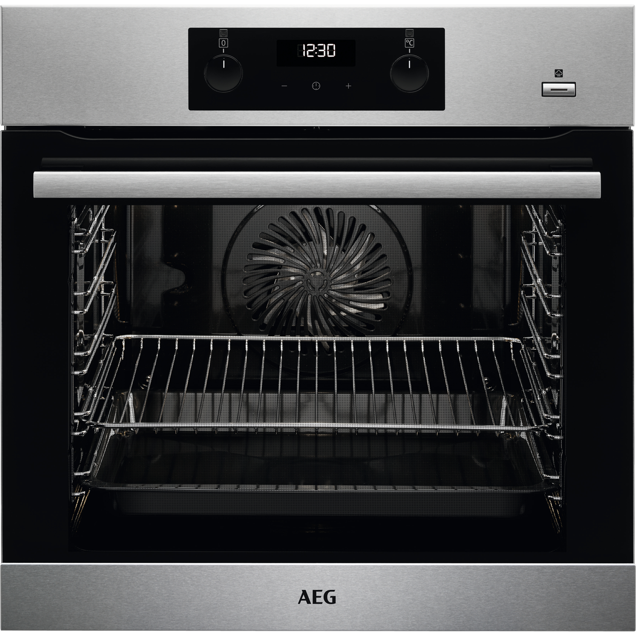 AEG Electric Single Oven - Stainless Steel - A Rated