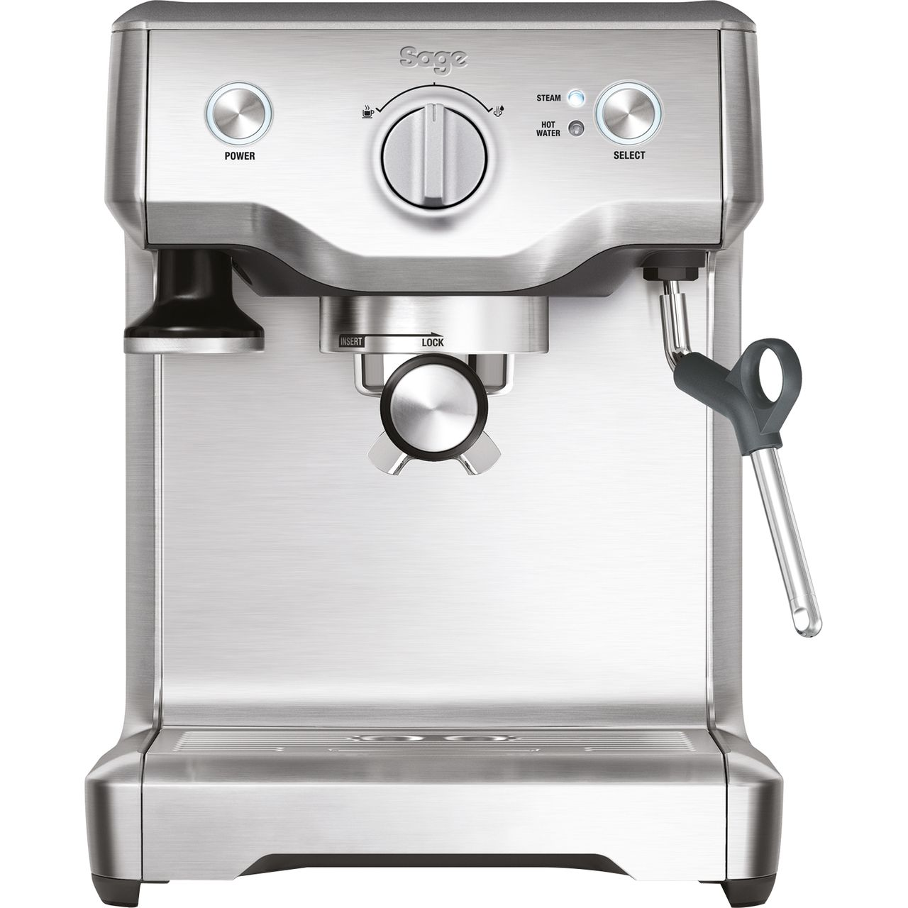 Sage The Duo Temp Pro Espresso Coffee Machine - Stainless Steel