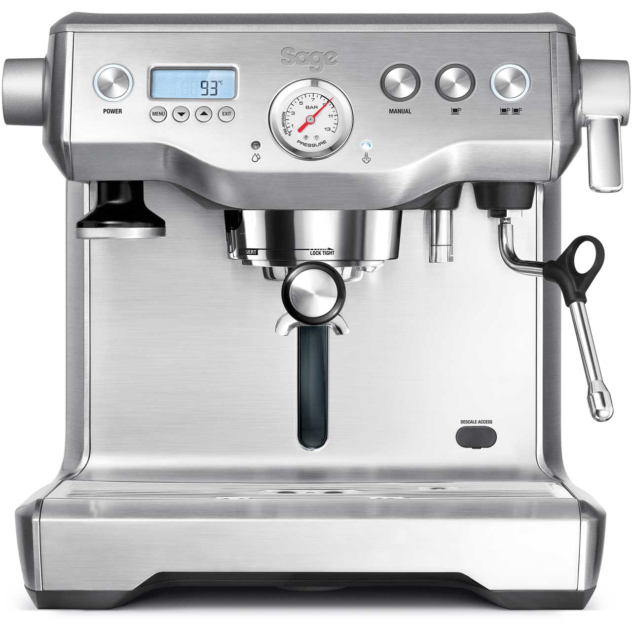 Bes920ukss Sage Espresso Coffee Machine Aocom